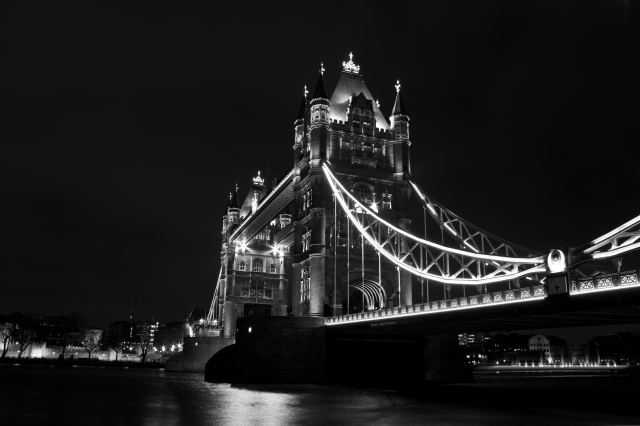 My favorite bridge in London, Tower Bridge